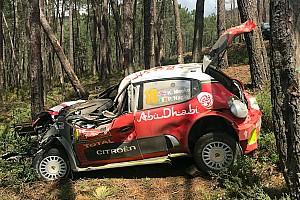 WRC Son dakika Meeke, Portekiz'deki büyük kaza sonrası Citroen'e minnettar