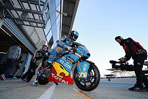Moto2 Test Tante squadre di Moto2 al lavoro a Le Mans per una giornata di test