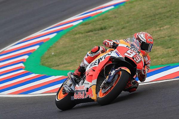 Termas, Libere 2: Marquez in palla nel disastro Ducati, le Yamaha a 1