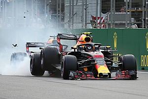 Fórmula 1 Galería GALERÍA: El choque de Daniel Ricciardo y Max Verstappen en la F1