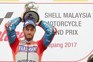 MotoGP Reporte de la carrera Dovizioso gana en Sepang y retrasa el alirón de Márquez