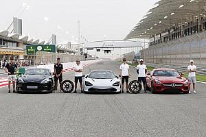 Fórmula 1 Galería Galería: 'Hot laps', el espectacular nuevo show de Pirelli y la F1