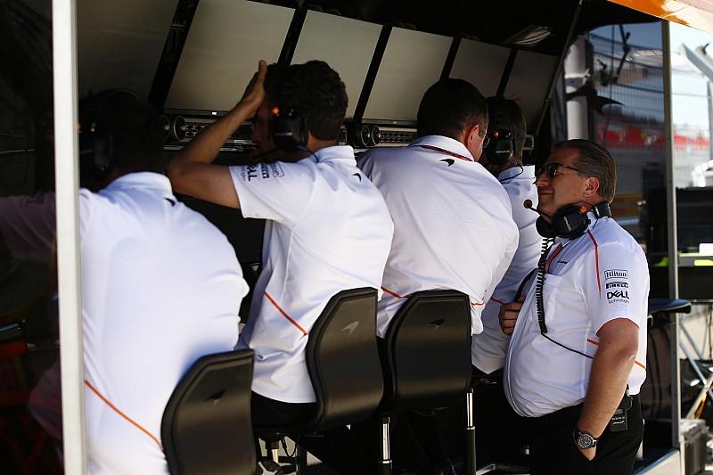 """McLaren: """"Ez egy kiábrándító hétvége volt…"""""""