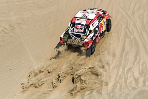 Dakar Stage report Dakar 2018, Stage 3: Al-Attiyah wins, drama for Hirvonen