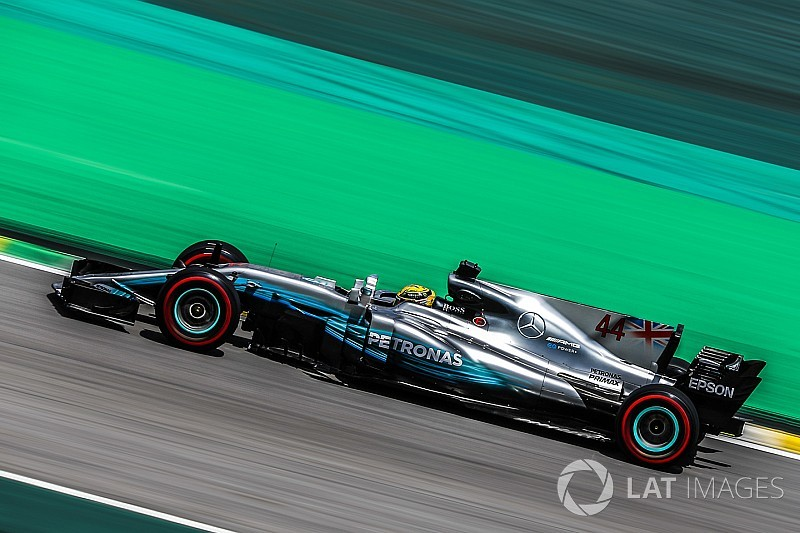 Mercedes considering high rake concept for 2018 f1 car for Mercedes benz f1 car