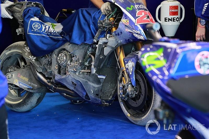 """Yamaha-Crewchief: """"Das Motorrad war unberechenbar"""""""