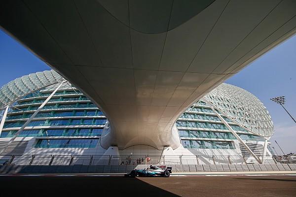 Hamilton responde a Vettel con el mejor tiempo de siempre en Abu Dhabi