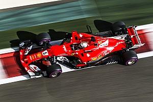 Formula 1 Test Test Abu Dhabi, Day 2, ore 12: Vettel detta il passo, Vandoorne sbatte