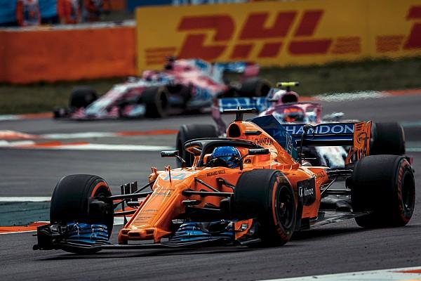 Alonso: McLaren has caught Renault/Haas