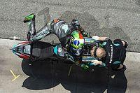 Quartararo destapó su cuarto motor y Morbidelli, el quinto