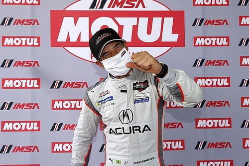 IMSA Daytona: Castroneves' Acura beats Mazdas to pole