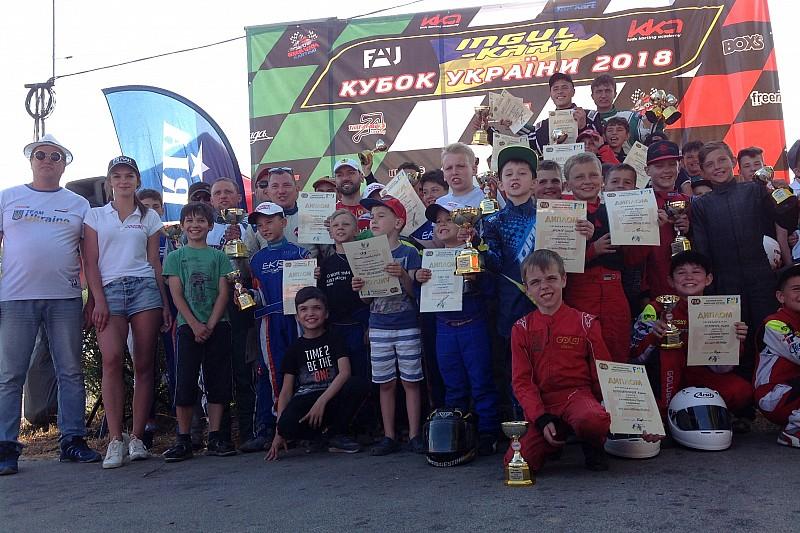 Кубок України національних класів із картингу вперше пройшов у Тернополі