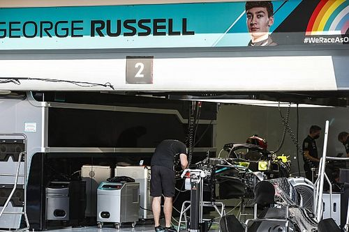 The effort Mercedes made to get Russell ready