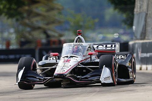 IndyCar: Newgarden se lleva la segunda pole en Detroit; Palou, top 5