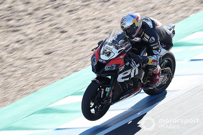 Superbike Portimao testi 1. gün: Rea lider, Toprak dördüncü