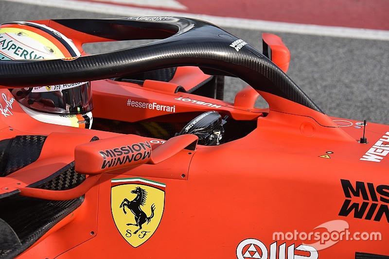 Svelato un segreto Ferrari: la terza leva di Sebastian Vettel è un freno a mano