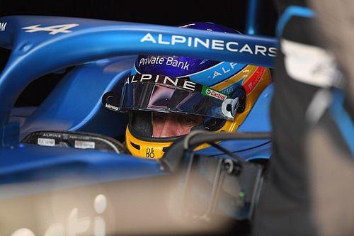Alonso dice que Alpine es el mejor de la zona media sin el mejor coche