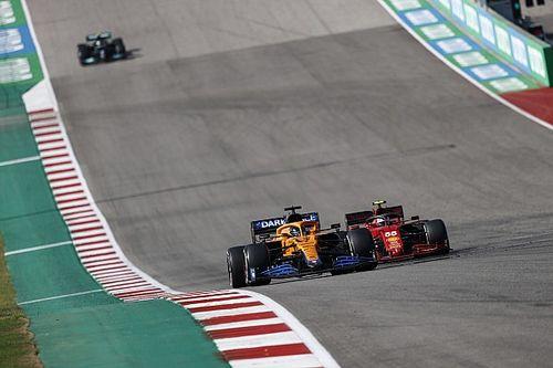 F1: Ricciardo 'agradece' Sainz por ser chamado de 'sujo' em disputa nos EUA
