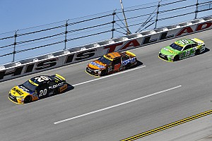NASCAR Cup Analysis Analysis: Riding in the back wasn't popular, but it was the smart move