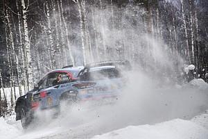 İsveç Rallisi: Neuville son güne 22 saniyelik farkla lider giriyor