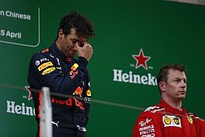 Forma-1 Statisztikák Ricciardo soha nem nyert még futamot a negyedik helyről előrébb rajtolva