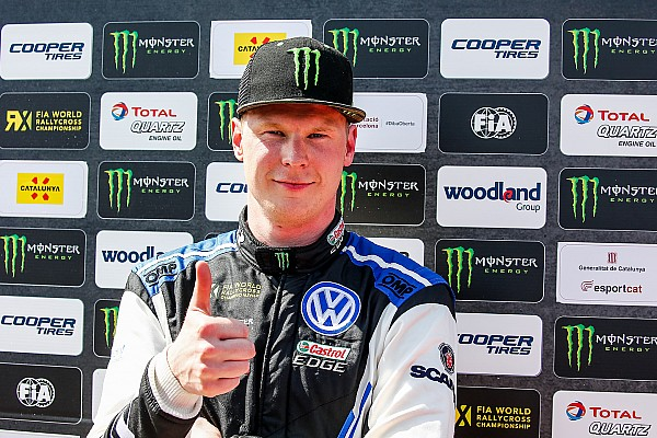 WK Rallycross Raceverslag Kristoffersson domineert WK Rallycross in Noorwegen