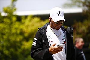 Hamilton: Amacım, kırmızı takımı üzmek