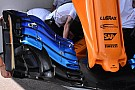 McLaren: c'è un'ala anteriore nuova soltanto per Alonso