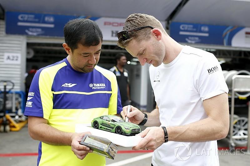 FIA GT World Cup: Mercedes-Benz domineert eerste training in Macau