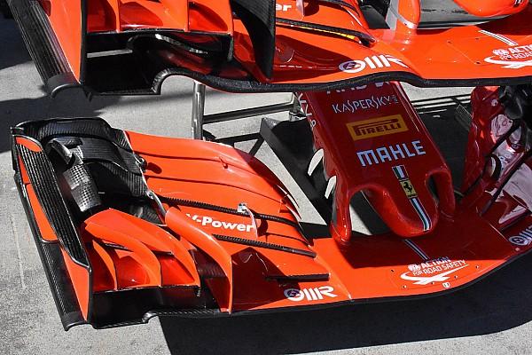 Fórmula 1 Artículo especial GALERÍA TÉCNICA: las últimas actualizaciones directamente desde los garajes