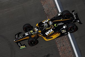 IndyCar フリー走行レポート インディ500決勝に備える練習走行はカラムがトップ。佐藤琢磨23番手
