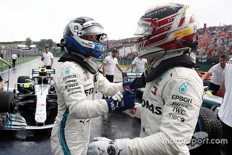 Гран При Венгрии: стартовая решетка