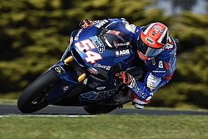 Moto2 Relato de classificação Por 0s008, Pasini é pole na Austrália; Morbidelli é 5°
