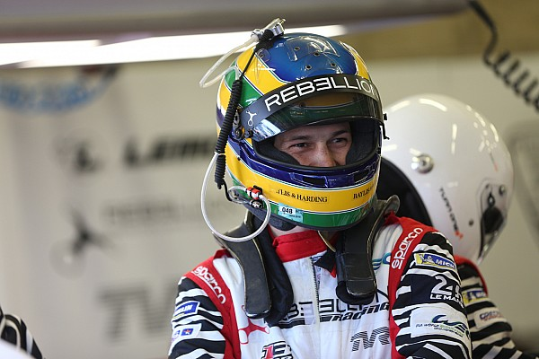 """Le Mans Últimas notícias Senna, sobre 4º lugar em Le Mans: """"Não dá para reclamar"""""""