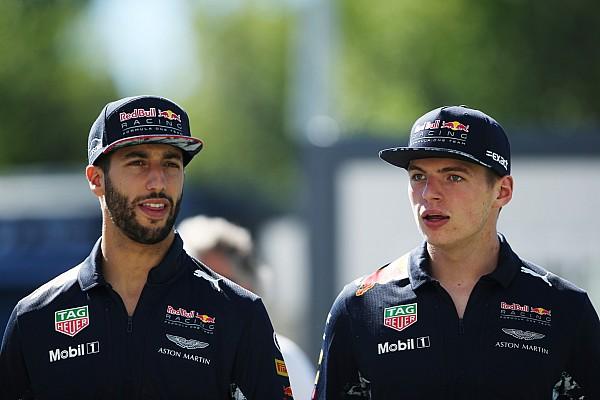Fórmula 1 Últimas notícias Ricciardo: Verstappen é colega de time mais duro que Vettel