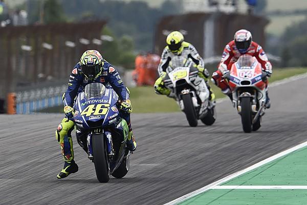 MotoGP-Superstar Valentino Rossi: Immerhin Punkte am Sachsenring