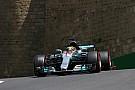 Formula 1 Hamilton: Baku tyre