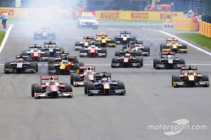 Feature Race F2 Belgia: Leclerc mendominasi, Gelael finis P17
