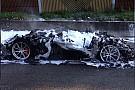 Auto Une Ferrari F12tdf complètement détruite par un incendie