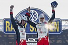 WRC Sweden WRC: Latvala grabs landmark win for Toyota