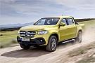Automotive Mercedes-Pickup: Neue X-Klasse kommt im November 2017