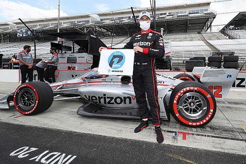 Пауэр взял поул на этапе IndyCar в Индианаполисе