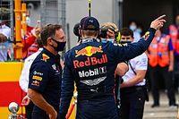A rázóköveken sérült meg Verstappen terelőszárnya a Red Bull szerint