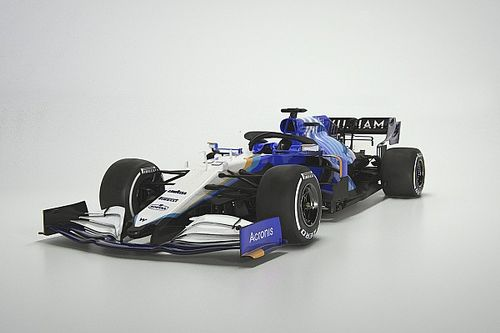 Williams reveals FW43B with heavily-revised F1 livery