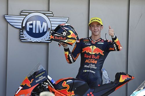 "Marquez: Star Moto3 rookie Acosta will be in MotoGP ""soon"""