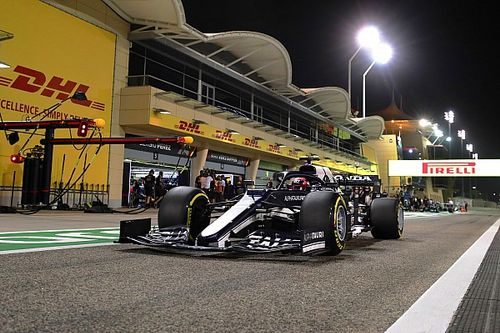 "Tsunoda says ""strange"" medium tyres had no grip at all in Q2"