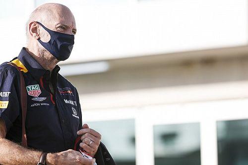 Red Bull, Newey tornato operativo dopo l'incidente in bici