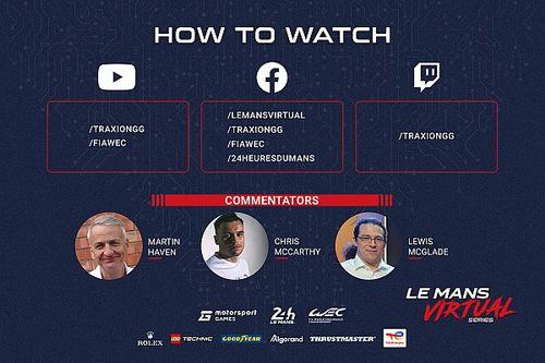 Kövessétek élőben a Le Mans Virtual Series kvalifikációját és futamát