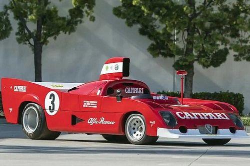 Une Alfa Romeo Tipo 33 TT 12 vendue aux enchères