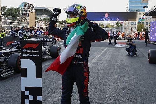 بيريز يفوز في سباق باكو بعد انسحاب زميله فيرشتابن